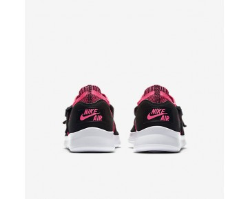 Chaussure Nike Air Sock Racer Ultra Flyknit Pour Femme Lifestyle Rose Coureur/Noir/Blanc_NO. 896447-004