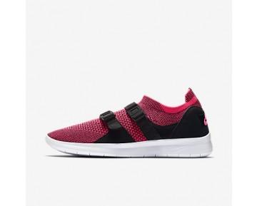 Chaussure Nike Air Sock Racer Ultra Flyknit Pour Femme Lifestyle Rose Coureur/Noir/Blanc_NO. 896447-004
