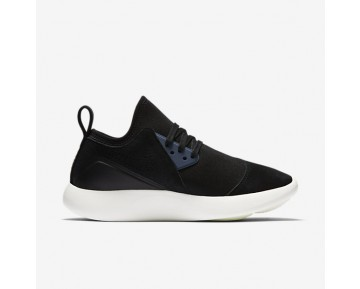 Chaussure Nike Lunarcharge Premium Pour Femme Lifestyle Noir/Bleu Orage/Voile_NO. 923286-014