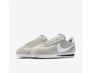 Chaussure Nike Classic Cortez Nylon Pour Femme Lifestyle Gris Pâle/Noir/Blanc_NO. 807472-006
