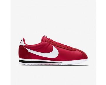 Chaussure Nike Classic Cortez Nylon Pour Femme Lifestyle Rouge Université/Noir/Blanc_NO. 807472-600