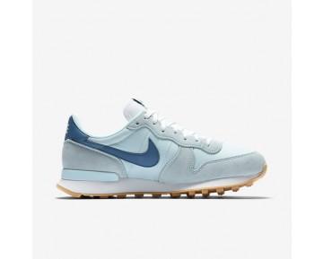 Chaussure Nike Internationalist Pour Femme Lifestyle Bleu Glacier/Blanc Sommet/Bleu Industriel_NO. 828407-409