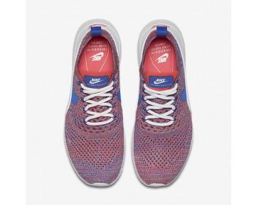 Chaussure Nike Air Max Thea Ultra Flyknit Pour Femme Lifestyle Rose Coureur/Blanc/Bleu Polarisé/Bleu Moyen_NO. 881175-100