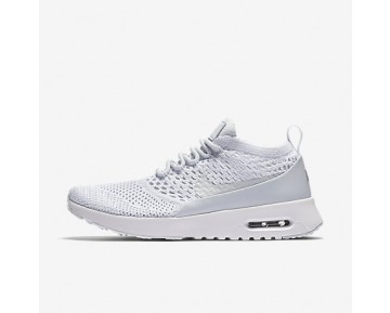 Chaussure Nike Air Max Thea Ultra Flyknit Pour Femme Lifestyle Platine Pur/Blanc/Gris Loup/Platine Pur_NO. 881175-002