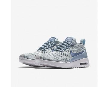 Chaussure Nike Air Max Thea Ultra Flyknit Pour Femme Lifestyle Bleu Arsenal Clair/Blanc/Bleu Glacier/Bleu Toile_NO. 881175-401