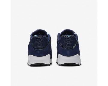 Chaussure Nike Air Max 90 Se Pour Femme Lifestyle Bleu Binaire/Bleu Lune/Blanc Sommet/Bleu Binaire_NO. 881105-400