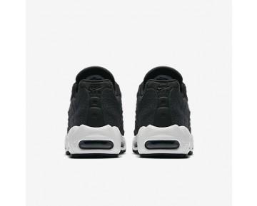 Chaussure Nike Air Max 95 Premium Pour Femme Lifestyle Noir/Blanc Sommet_NO. 807443-010