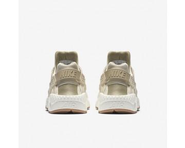 Chaussure Nike Air Huarache Premium Pour Femme Lifestyle Flocons D'Avoine/Voile/Gomme Marron/Kaki_NO. 683818-102