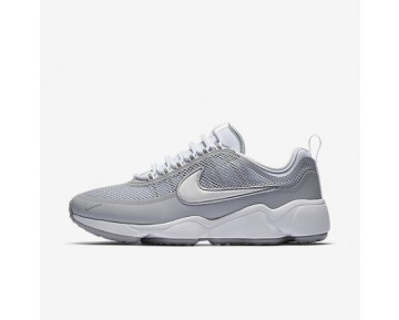Chaussure Nike Zoom Spiridon Ultra Pour Homme Lifestyle Blanc/Gris Loup/Blanc_NO. 876267-100