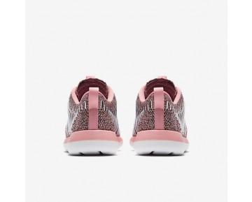 Chaussure Nike Roshe Two Flyknit Pour Femme Lifestyle Melon Brillant/Noir/Blanc_NO. 844929-801