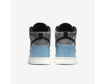 Chaussure Nike Dunk High Lx Pour Femme Lifestyle Argent Métallique/Bleu Mica/Ivoire/Noir_NO. 881233-002