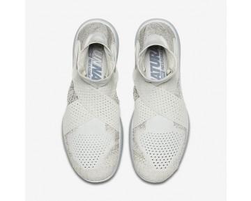 Chaussure Nike Lab Free Rn Motion Flyknit 2017 Pour Femme Lifestyle Voile/Érable Foncé/Beige Clair/Argent Réfléchissant_NO. 883292-100