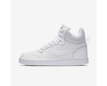 Chaussure Nike Court Borough Mid Pour Femme Lifestyle Blanc/Blanc/Blanc_NO. 844906-110