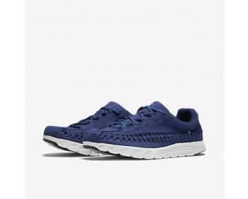 Chaussure Nike Mayfly Woven Pour Homme Lifestyle Bleu Côtier/Blanc Cassé/Noir_NO. 833132-400