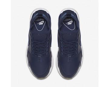 Chaussure Nike Air Huarache Ultra Si Pour Femme Lifestyle Bleu Binaire/Blanc/Gomme Marron Clair/Bleu Binaire_NO. 881100-400
