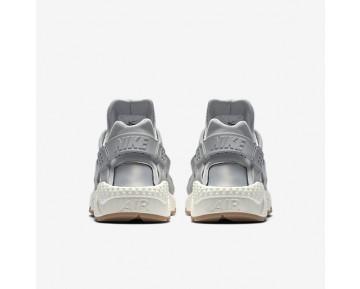 Chaussure Nike Air Huarache Premium Pour Femme Lifestyle Gris Loup/Voile/Gomme Marron/Gris Loup_NO. 683818-012
