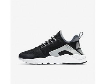 Chaussure Nike Air Huarache Ultra Se Pour Femme Lifestyle Noir/Gris Froid/Platine Pur/Noir_NO. 859516-002