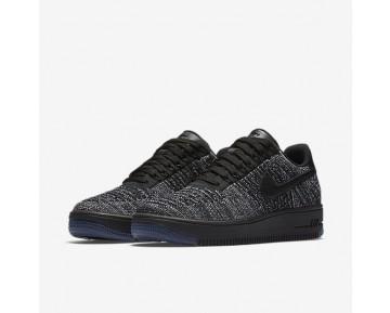 Chaussure Nike Air Force 1 Flyknit Low Pour Femme Lifestyle Noir/Blanc/Noir_NO. 820256-007