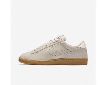 Chaussure Nike Court Tennis Classic Cs Pour Femme Lifestyle Flocons D'Avoine/Ivoire/Gomme Marron Clair/Flocons D'Avoine_NO. 829351-100