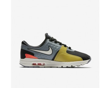 Chaussure Nike Air Max Zero Si Pour Femme Lifestyle Noir/Gris Froid/Cramoisi Total/Beige Clair_NO. 881173-001