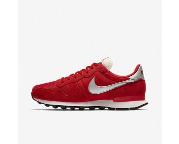 Chaussure Nike Internationalist Pour Homme Lifestyle Rouge Université/Blanc Sommet/Noir/Argent Métallique_NO. 828041-601
