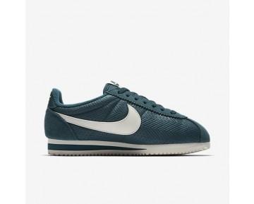 Chaussure Nike Classic Cortez Textile Pour Femme Lifestyle Turquoise Nuit/Voile/Voile_NO. 844892-300