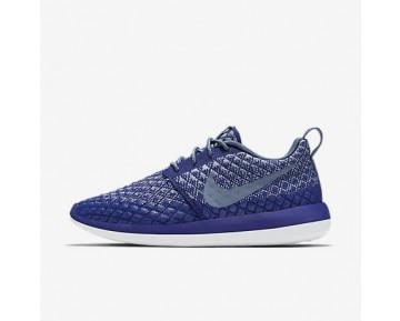 Chaussure Nike Roshe Two Flyknit 365 Pour Femme Lifestyle Bleu Royal Profond/Gris Loup/Blanc/Brouillard D'Océan_NO. 861706-400