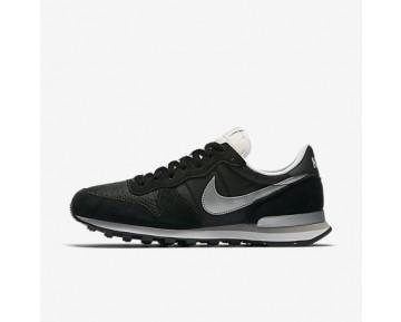 Chaussure Nike Internationalist Pour Homme Lifestyle Noir/Blanc/Argent Pâle/Argent Métallique_NO. 828041-003