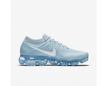 Chaussure Nike Air Vapormax Flyknit Pour Femme Running Bleu Glacier/Platine Pur/Blanc_NO. 849557-404