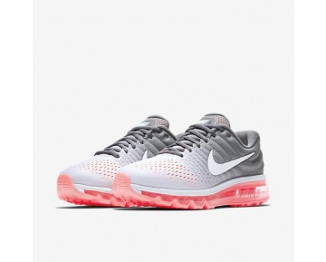 Chaussure Nike Air Max 2017 Pour Femme Running Platine Pur/Gris Froid/Lave Piquant/Blanc_NO. 849560-007