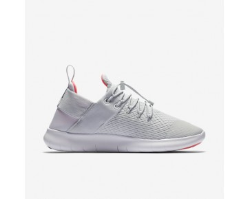 Chaussure Nike Free Rn Commuter 2017 Pour Femme Running Platine Pur/Rouge Cocktail/Blanc/Aqua Clair_NO. 880842-004