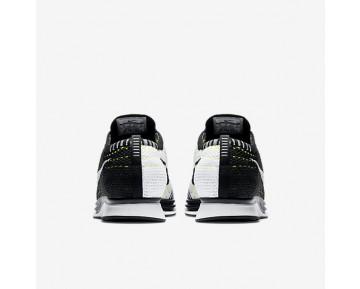 Chaussure Nike Flyknit Racer Pour Femme Running Noir/Blanc/Blanc_NO. 526628-011