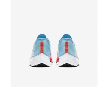 Chaussure Nike Zoom Vaporfly 4% Pour Femme Running Bleu Glacé/Cramoisi Brillant/Rouge Université/Renard Bleu_NO. 880847-401