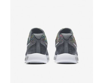 Chaussure Nike Lunarepic Low Flyknit 2 Pour Femme Running Gris Froid/Volt/Bleu Rayonnant/Blanc_NO. 863780-003