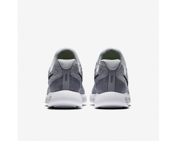 Chaussure Nike Lunarepic Low Flyknit 2 Pour Femme Running Gris Loup/Gris Froid/Platine Pur/Noir_NO. 863780-002