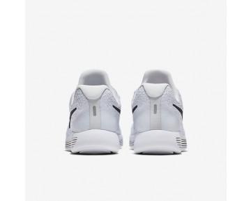 Chaussure Nike Lunarepic Low Flyknit 2 Pour Femme Running Blanc/Platine Pur/Gris Loup/Noir_NO. 863780-100