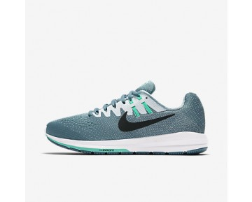 Chaussure Nike Air Zoom Structure 20 Pour Femme Running Bleu Fumeux/Blanc/Hyper Turquoise/Noir_NO. 849577-004