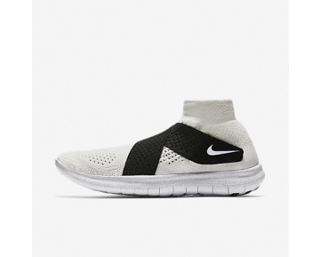 Chaussure Nike Lab Gyakusou Free Rn Motion Flyknit 2017 Pour Femme Running Voile/Noir/Voile_NO. 883290-100