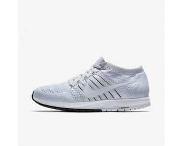 Chaussure Nike Zoom Flyknit Streak Pour Femme Running Platine Pur/Noir/Blanc_NO. 835994-002