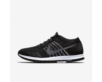 Chaussure Nike Zoom Flyknit Streak Pour Femme Running Noir/Blanc/Gris Foncé_NO. 835994-010
