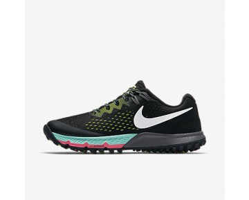 Chaussure Nike Air Zoom Terra Kiger 4 Pour Femme Running Noir/Volt/Hyper Turquoise/Blanc_NO. 880564-001