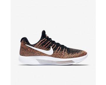 Chaussure Nike Lunarepic Low Flyknit 2 Pour Femme Running Noir/Rouge Cocktail/Bleu Université/Blanc_NO. 863780-006