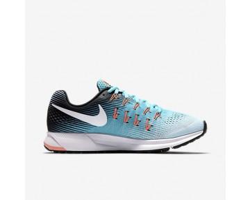 Chaussure Nike Air Zoom Pegasus 33 Pour Femme Running Bleu Glacier/Bleu Polarisé/Noir/Blanc_NO. 831356-405