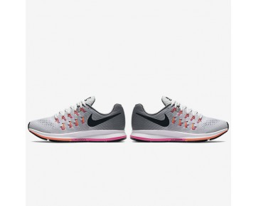 Chaussure Nike Air Zoom Pegasus 33 Pour Femme Running Platine Pur/Gris Froid/Explosion Rose/Noir_NO. 831356-006