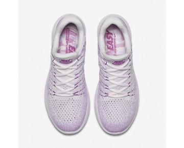 Chaussure Nike Lunarepic Low Flyknit 2 Iwd Pour Femme Running Violet Clair/Hyper Violet/Fuchsia Phosphorescent/Blanc_NO. 881674-501