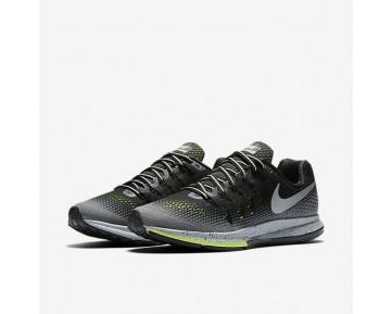 Chaussure Nike Air Zoom Pegasus 33 Shield Pour Femme Running Noir/Gris Foncé/Discret/Argent Métallique_NO. 849567-001