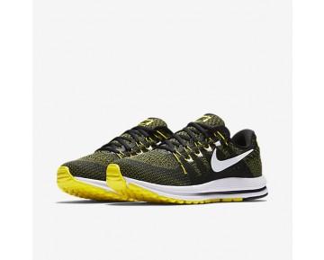 Chaussure Nike Air Zoom Vomero 12 Pour Femme Running Noir/Jaune Strike/Blanc_NO. 883281-007