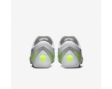 Chaussure Nike Zoom Victory 2 Pour Femme Running Blanc/Volt/Noir_NO. 555365-170