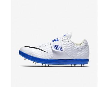 Chaussure Nike High Jump Elite Pour Femme Running Blanc/Bleu Coureur/Noir_NO. 806561-100