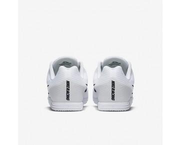 Chaussure Nike Zoom Rival D 9 Pour Femme Running Blanc/Bleu Coureur/Noir_NO. 806556-100
